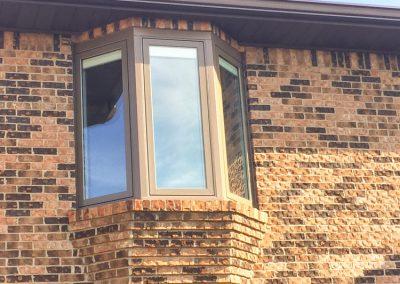Tan Bay Window